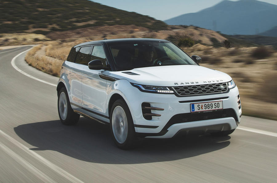 Range Rover Evoque: Alquiler de coches de Alta Gama