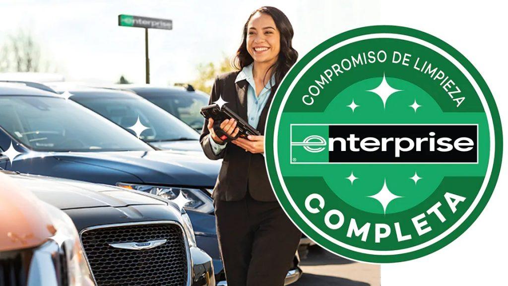Limpieza: Alquiler de coches con Enterprise