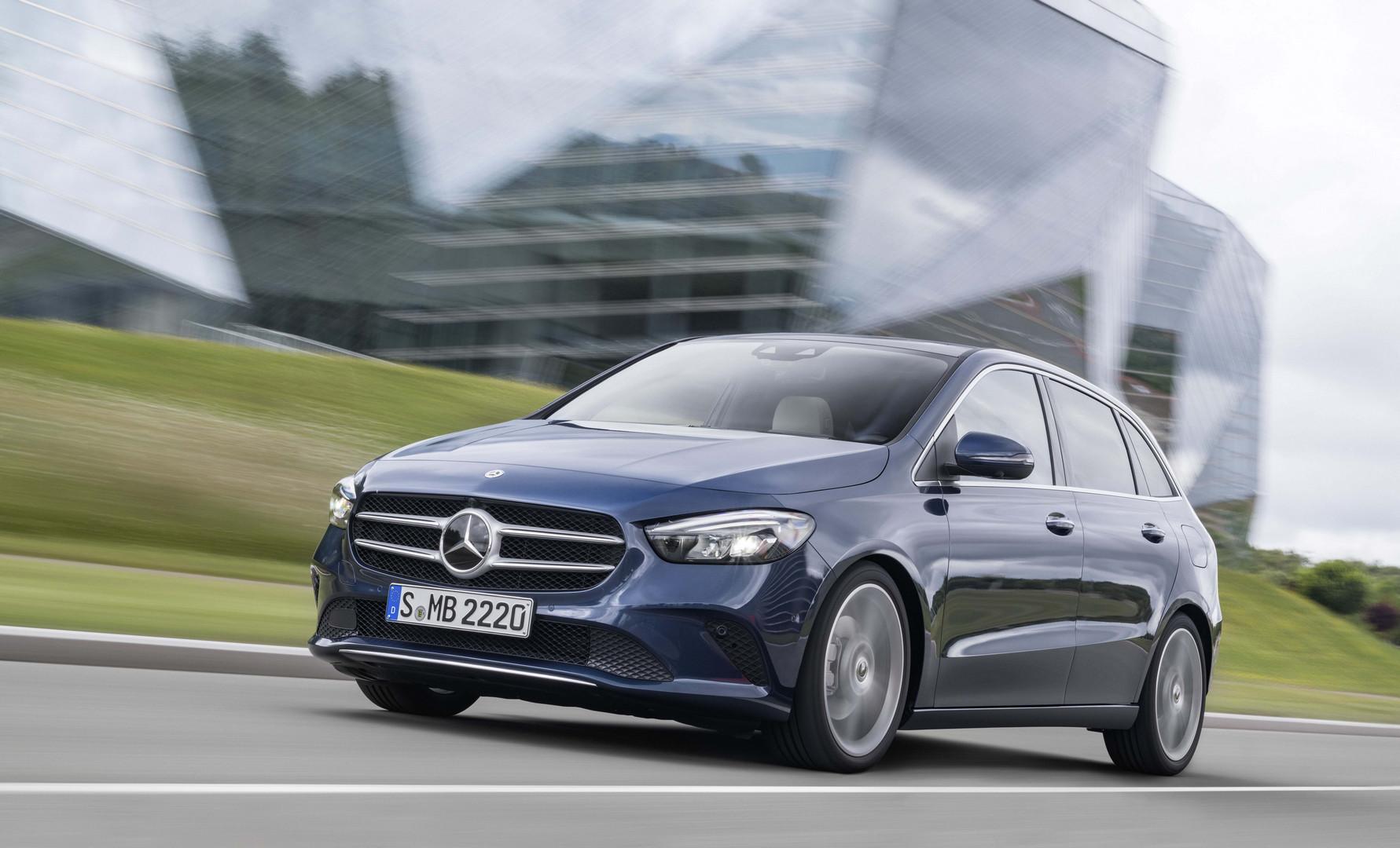 Mercedes Clase B: Alquiler de coches de Premium