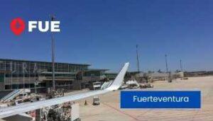 alquiler coche fuerteventura aeropuerto españa FUE