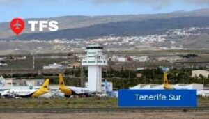tenerife south airport spain